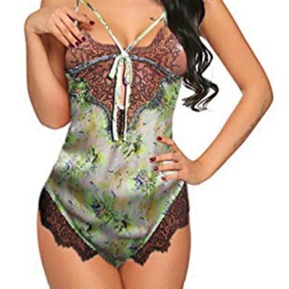 affcb8428eb Victoria s Secret Fantasy Island teddy romper S
